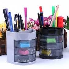 Plastic Desk Organizer New Home Office Plastic Desk Tidy Stationery Pen Organiser Holder