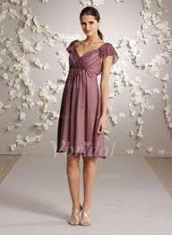 a linie herzausschnitt knielang chiffon brautjungfernkleid mit gestupft p551 v ausschnitt knielange 3d blumen chiffon kleid standesamt