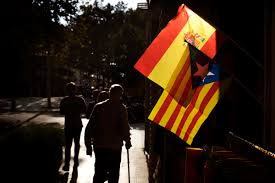 Estelada Flag Spain Gives Ultimatum To Catalonia Back Down Or Be Punished