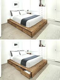 double bed frames with storage drawers best frames 2018