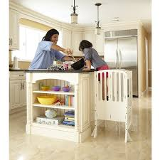 Contemporary Kitchen Amazon Com Guidecraft Contemporary Kitchen Helper White G97329 Baby