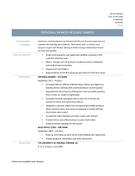 Investment Banking Resume Examples Private Banker Resume Sample Resume For Your Job Application