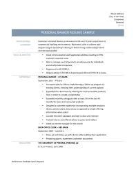 Bank Teller Responsibilities Resume Personal Banker Resume Templates Resume For Your Job Application
