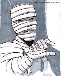 inktober 2012 u2013 31 monsters of halloween mummy http www