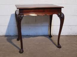 Mahogany Side Table Antique Late Victorian Mahogany Side Table C1890 42118 Www