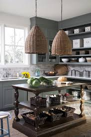 southern living home 2013 gray green kitchen cabinets cottage kitchen southern living