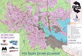Seattle Marathon Map by The Best North American Urban City Orienteering Venue