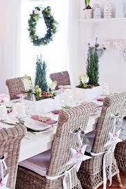 White Rattan Christmas Decorations by Top 15 Christmas Table Set Up Designs U2013 Easy Happy New Year Party