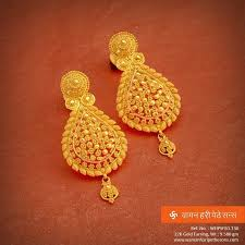 earrings gold 179 best gold earrings images on gold earrings indian