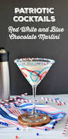blue martini patriotic cocktails red white and blue chocolate martini recipe
