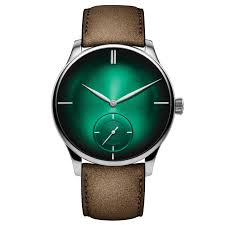 Small H by Venturer Small Seconds Xl Purity Cosmic Green Watch H Moser