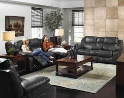 Stylish Recliner by Comfortable And Stylish Faux Leather Reclining Sofa By Catnapper