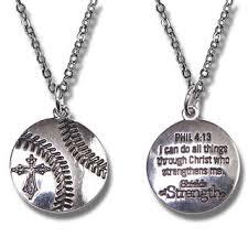 baseball jewelry baseball pendant sports necklace