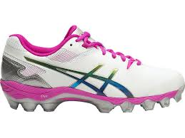 s touch football boots australia gel lethal touch pro 6 white pink glow silver asics au