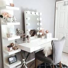 white makeup vanity table some pretty vanity via house of pretty o photos and videos bedroom