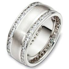 thick wedding bands 48488pp platinum diamond eternity ring