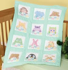 sted white nursery quilt block 9 x9 12 pkg peek