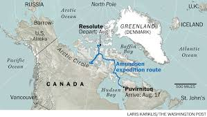 Alaska Inside Passage Map by Even Small Boats Are Tackling The Fabled Northwest Passage The