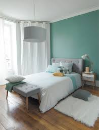 Idee Deco Scandinave by Indogate Com Chambre Adulte Marron Turquoise