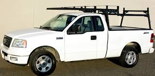 Ford F150 Truck Rack - here is one of our customized reading service bodies with a ladder