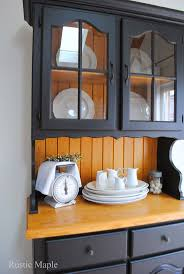 20 best fusion mineral paint images on pinterest furniture ideas rustic maple oak buffet and hutch with fusion mineral paint in coal black