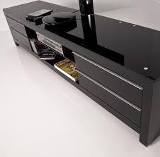 meuble de chambre conforama table tv en verre conforama