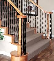 Stair Banister Kit Do It Yourself Decorative Iron Balusters Kits Railing Merced