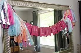 mylar tissue paper diy tutorial how to make a diy tissue paper tassel garland sign