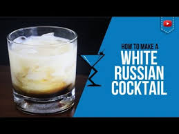 white russian drink recipe white russian cocktail u2013 how to make a white russian cocktail