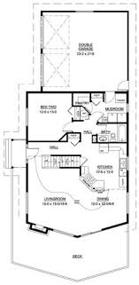 a frame house floor plans floor plan of a frame cabin narrow lot vacation house plan