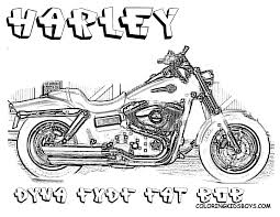 macho harley davidson coloring harley davidson motorcycle free