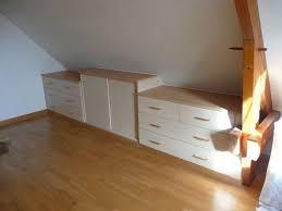 meuble bas pour chambre 19 best meubles rangement sous pente en images on