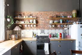 spray painting kitchen cabinets edinburgh artist tessa macgregor edinburgh home tour apartment therapy
