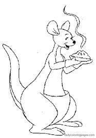 winnie pooh characters coloring pages coloring