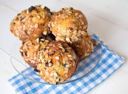 blueberry muesli muffins recipe healthy and delicious