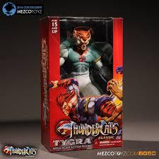 thundercats thundercats phasing tygra 2016 con exclusive u2013 mezco toyz