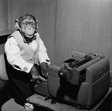 Typewriter Meme - oz typewriter year of the typewriter monkey