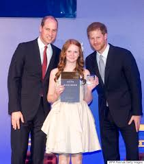 ontario teen receives diana award from princes william and harry