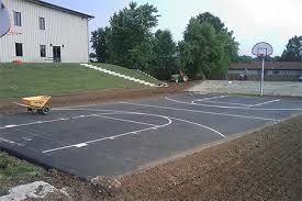 Backyard Sport Courts Sport Courts U0026 Running Tracks Eagle Asphalt Paving Division