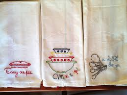 tea towel embroidery designs kitchen towel embroidery designs
