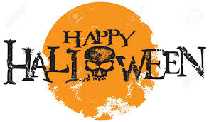 happy halloween clipart happy halloween skull text royalty free cliparts vectors and