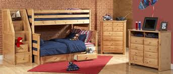 full over queen bunk bed with stairs for efficient space usage