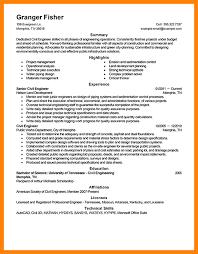 Sample Of Resume For Civil Engineer Sample Engineering Resume Art Resumes