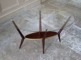 italian design coffee table glass 1950 u0027s alto stile