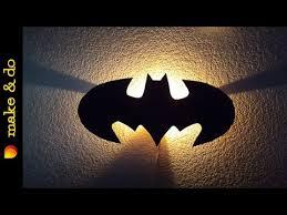 Batman Lights How To Make A Batman Wall Light Youtube