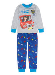 boy u0027s clothing boys blue postman pat pyjamas 9 months 5