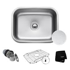 Kitchen Sink Model Faucet Com Kbu12e In Stainless Steel By Kraus