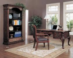 Classic Office Desks Office Workspace Classic Home Office Design With Traditional Teak