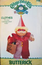 Butterick Halloween Costume Patterns 151 Cabbage Patch Images Cabbages Sewing