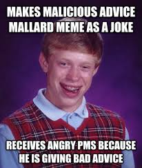 livememe com bad luck brian